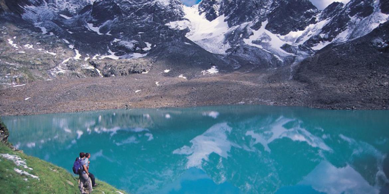 Gletschersee in den Hohen Trauern
