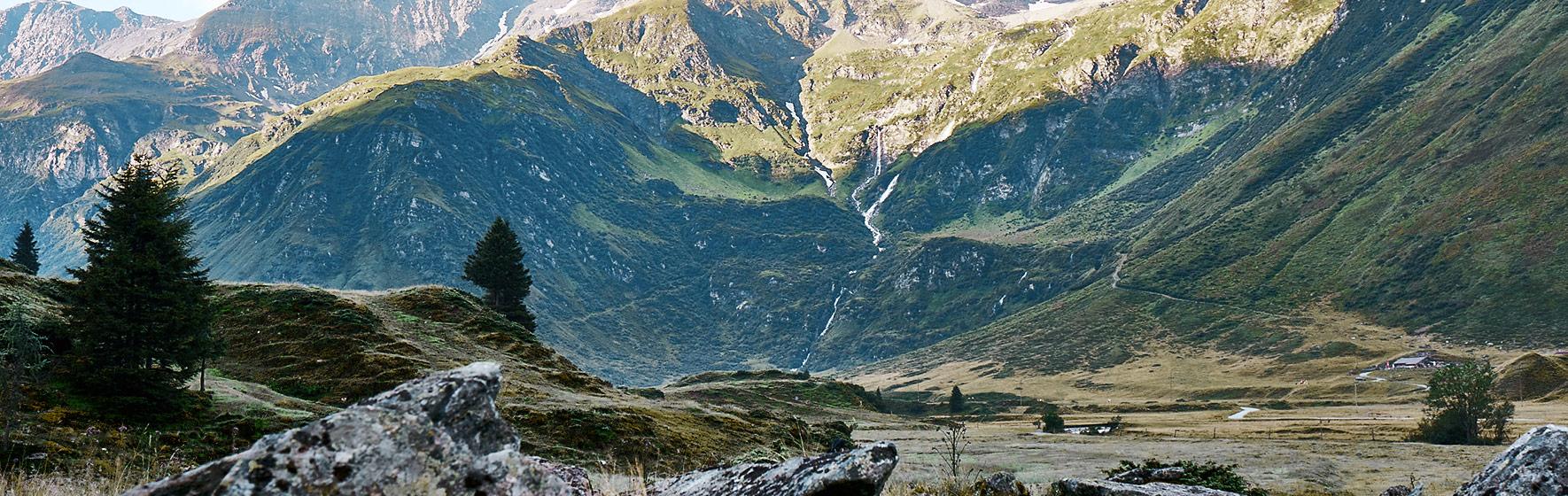 Wanderweg Berge